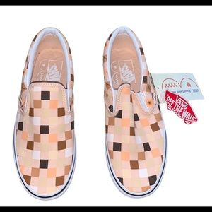 Vans Shoes - NWT Vans Breast Cancer Slip on Shoes Woman's 9
